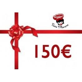E-Carte cadeau pour les Ateliers Tatie Maryse - 150€