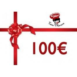 E-Carte cadeau pour les Ateliers Tatie Maryse - 100€
