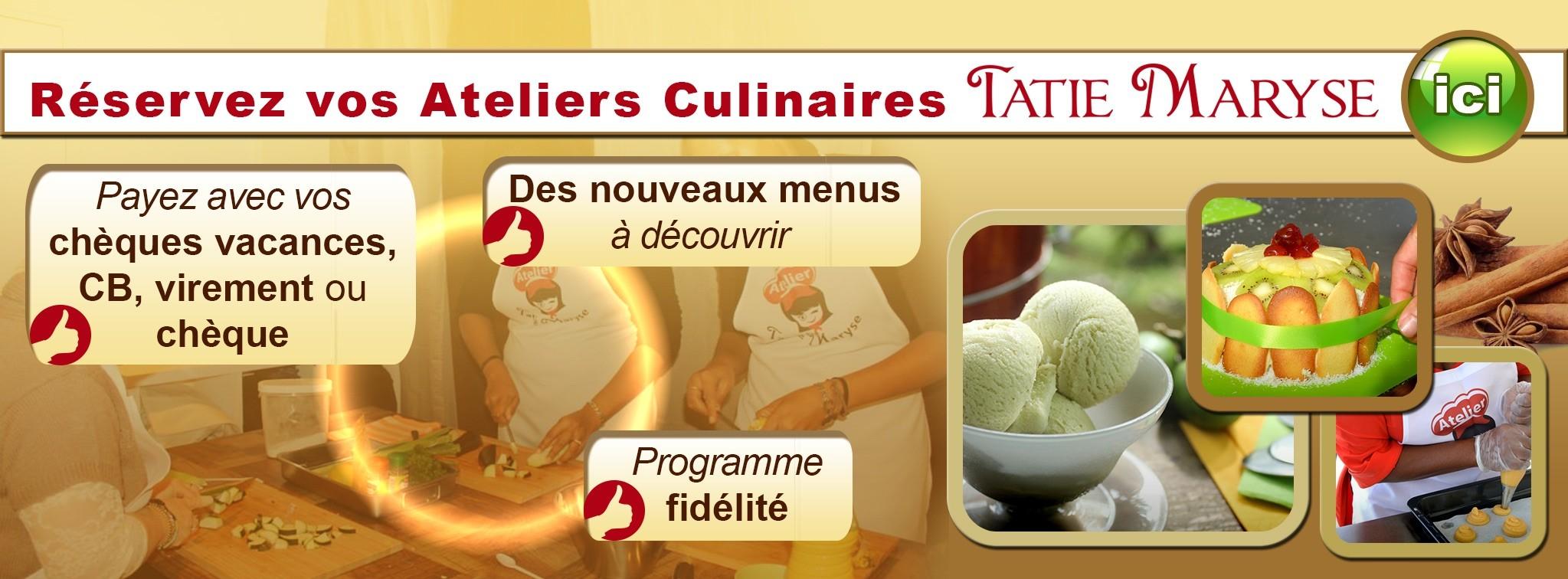 Ateliers cuisine antillaise